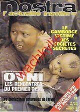 Nostra n°402 du 19/12/1979 Cambodge OVNI