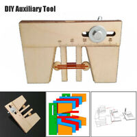 Dead Eyes Mooring Tools Fix Tool for Wood Ship Model Kit Wooden Auxiliary Tool