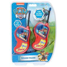 Paw Patrols Walkie Talkies Radio Set Kids/Children/Friends Toy/Play 60m Range