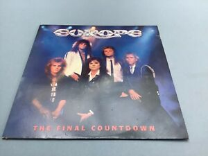 Europe - The Final Countdown Vinyl LP PIC/LYRIC Insert EPC 26808 (1986)