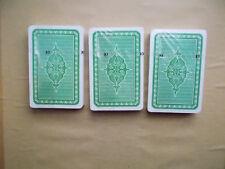 3 Pack Skatkarten Skat Spielkarten / Kartenspiel Rekord Französisches Clubbild