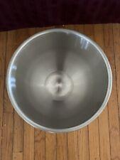 New 20 Qt Hobart Stainless Bowl 20sst