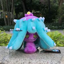 "Pokemon Center Go Plush Toy Mareanie 8"" Hidoide Fluffy Stuffed Animal Poke Doll"