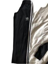 Black Adidas Tracksuit Bottoms