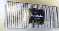 Marcel Rochas Soap Men's Soap Moustache Soap Sealed in Box 3 Bars Rare Soap