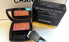 CHANEL Les Tissages de CHANEL dúo de rubor Tweed Efecto Color #110 Flor De Cerezo