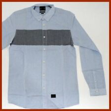 Quiksilver Long Sleeve Button-Front Casual Shirts for Men