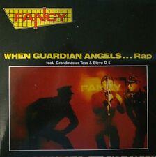 FANCY feat GRANDMASTER TESS & STEVE D5-WHEN GUARDIAN ANGELS...RAP.CD SINGLE