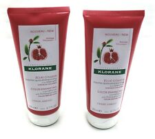 (QTY 2) KLORANE COLOR ENHANCING CONDITIONER WITH POMEGRANATE 6.7 FL OZ