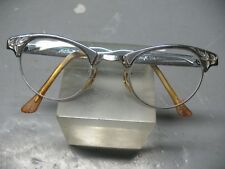 459c1db592 ART CRAFT USA CAT EYES FRAMES GLASSES 3   3 4 --5 ALUM