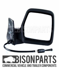 *CITROEN DISPATCH (1996 - 2007) BLACK MANUAL MIRROR HEAD DRIVER SIDE RH CIT035