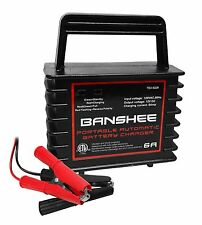 Vehicle 12V 6A Motorcycle Car Battery Automatic Charger 2 Year Warranty