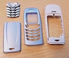 Genuino Original Nokia 6100 Completo Carcasa Cubierta de Batería Trasera Fascia Trasera Teclado