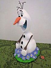 Disney Frozen Snowman Olaf in Summer Lawn Ornament Garden Statue Resin