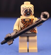 LEGO® STAR WARS 7113 minifigure TUSKEN RAIDER TATOOINE Sand People + Gaffi Stick