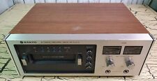 Vintage Sanyo 8 Track Tape Deck Player Recorder Model Rd 8020 A Japan Rare