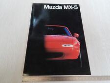 brochure originale in italiano Mazda MX-5 Miata MX5 2 pagine depliant prospekt