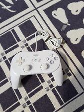 Nintendo Wii Classic Controller Pro oficial rvl-005 blanco