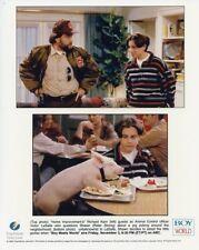 RIDER STRONG RICHARD KARN BOY MEETS WORLD ORIGINAL COLOR 1995 ABC TV PHOTO