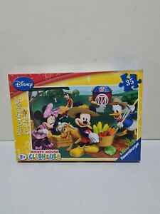 Disney Jigsaw Puzzle.  Mickey Mouse Clubhouse. 35 pieces. New & Sealed 3+