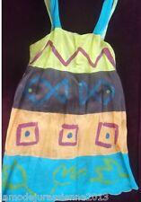 """PROMOTION : LOUISE DELLA robe modèle """"POISSONS"""" neuve et étiquetée valeur 379€"""
