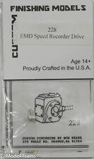 Custom Finishing Models HO #228 EMD Speed Recorder Drive Unit