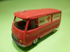 NOREV PEUGEOT J7 - AMBULANCE ACCIDENT SOS - 1:43 - RARE SELTEN - GOOD CONDITION