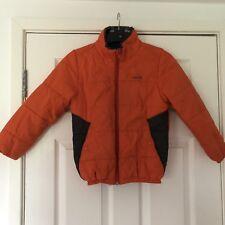 Wed'ze Boys Padded Reversible Winter Coat Age 8