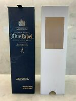 JOHNNIE WALKER BLUE LABEL SCOTCH WHISKEY EMPTY DISPLAY BOX CASE ~Travel Edition~