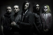 """085 Motionless in White - Gothic Metalcore Music Band Chris 36""""x24"""" Poster"""
