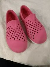 Girls Pink Tom's Size 9
