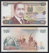 Kenia - Kenya  50 Shilingi  1-7-2002  Pick 36g   SC = UNC