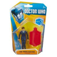 "Doctor Who TENTH Dr in BLUE SUIT - 3.75"" 10th FIGURE Wave 3 - NEW"