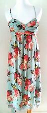 BETSY JOHNSON FLORAL HIGH LOW MIDI DRESS SZ XS 2