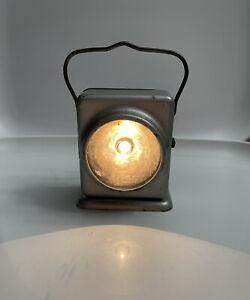 Vintage 1940s Delta Silverlite Electric Lantern w/ Instructions. Works!
