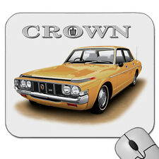 TOYOTA CROWN  2600  SALOON      MOUSE PAD    ( 6 CAR COLOURS )