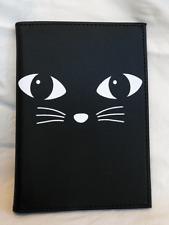 Black Cat Design Passport Holder - BNWT