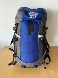 Alpine Lowe Storm Peak 40Ltr Blue Backpack