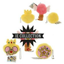 SAILOR MOON SET 3 OGGETTI MAGICI PELUCHE Transform items plush doll Crystal Star