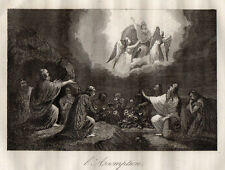 GRAVURE RELIGION /  L 'ASSOMPTION