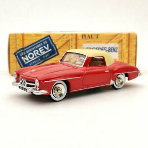 Norev Mercedes Benz 190 SL Red CL3512 1:43 Diecast Models Limited Collection