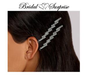 hair pins Bridesmaid bride pair rhinestone  FREE GIFT W/ PURCHASE- C-VIDEO