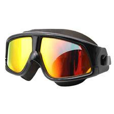 Водонепроницаемая большая рамка очки плавательные очки затычки противотуманные маска для плавания