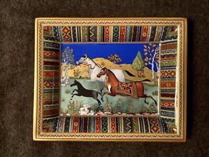 Hermes CHEVAL d'ORIENT Decorative/Change Tray