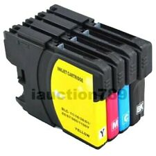 10x Ink Cartridges LC-38 for Brother DCP145C DCP165C DCP195C DCP375CW Printer