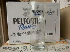 6 verres bière PELFORTH RADLER 33 cl