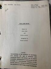 Still The Beaver Tv Movie Script 1982 Leave it to beaver
