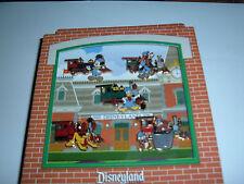 Disneyland 2008 train pins set Mickey Goofy Pluto Donald Duck Chip N dale MIB