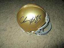 Notre Dame Fighting Irish CHASE CLAYPOOL signed Mini Helmet