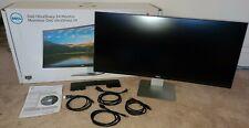 "Dell UltraSharp U3415W 34"" 4K Curved IPS LED Monitor 21:9 WQHD 3440 x 1440 Wide"